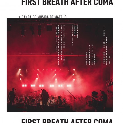 First Breath After Coma + Banda de Música de Mateus (CD/DIGITAL)